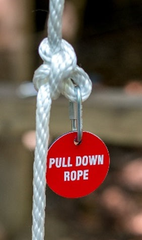 Park Sign - Pull Down Rope-Round