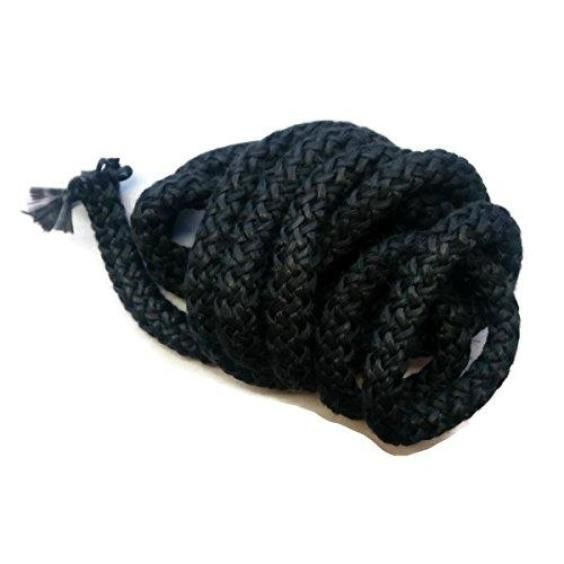 Black Graphite - Square Knit Fiberglass Rope - Spool