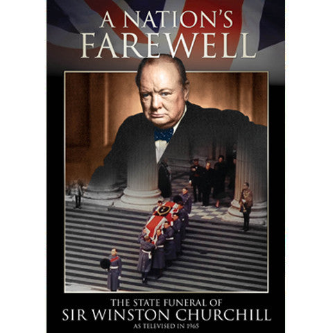 A Nation's Farewell - The State Funeral of Sir Winston Churchill - DVD