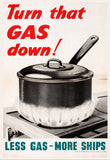 POSTER: Turn That GAS Down!