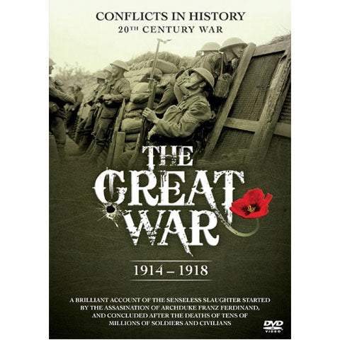 The Great War: 1914-1918 DVD