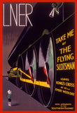 POSTCARD – LNER – Take Me By The Flying Scotsman