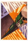 POSTER: Southern Rail – South For Winter Sunshine
