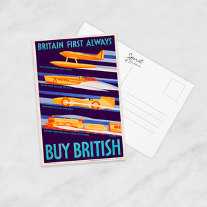 POSTCARD: Buy British