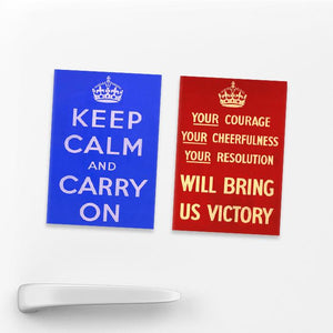 SET OF 2 MAGNETS: Courage and Calm