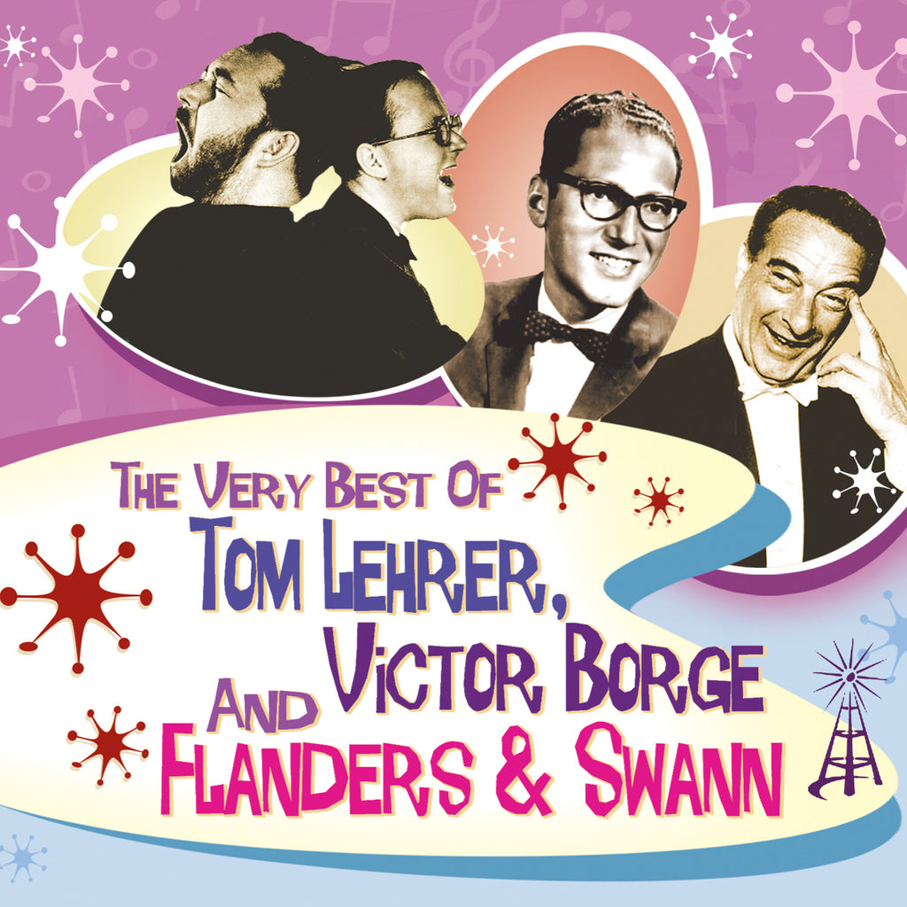 The Very Best Of  Tom Lehrer, Victor Borge, Flanders & Swann