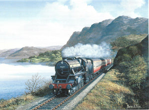 Stanier Black Five at Loch Carron