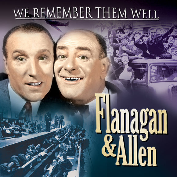 CD: We Remember Them Well - Flanagan and Allen