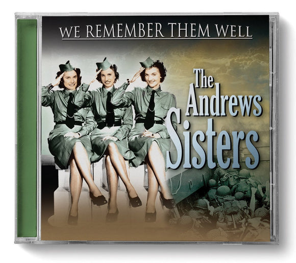 CD: We Remember Them Well - Andrews Sisters