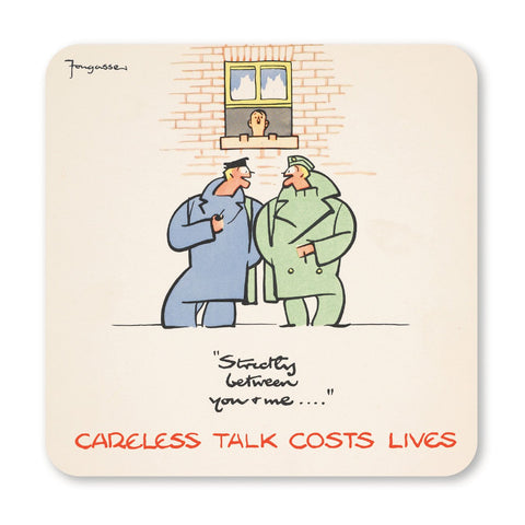 Careless Talk - Coaster