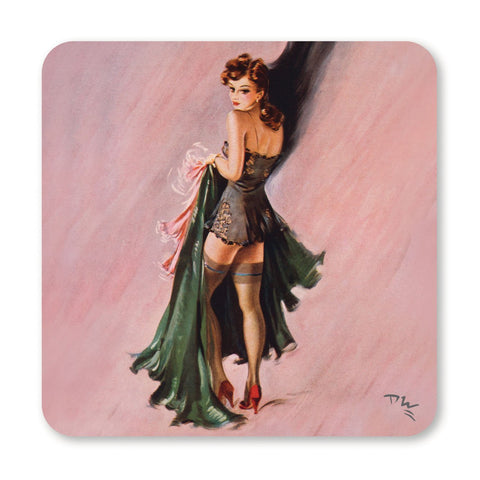 Wartime Pin-ups - Coaster