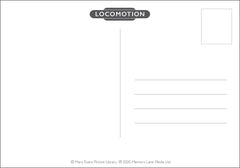 Locomotion - Postcard