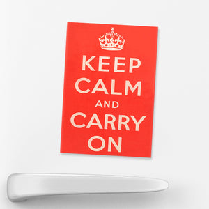 MAGNET: Keep Calm And Carry On (Red)