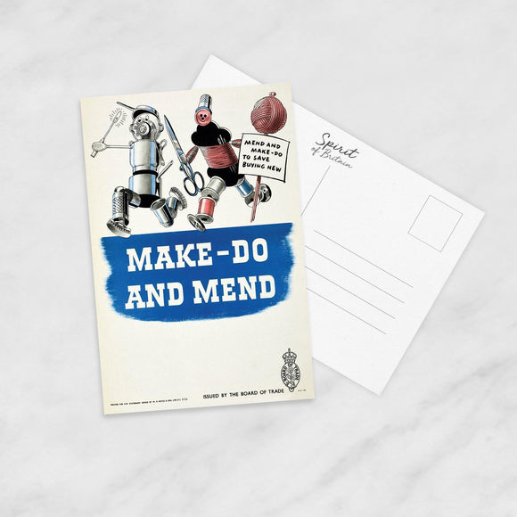 POSTCARD: Make Do And Mend