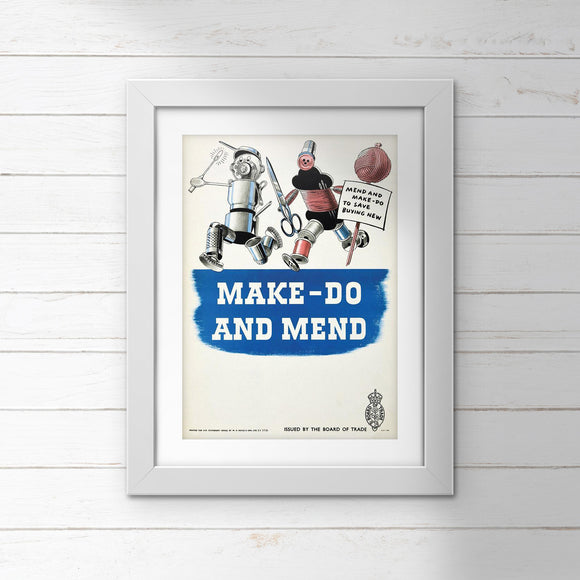 Make Do And Mend - poster