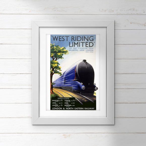 POSTER – LNER – West Riding Limited