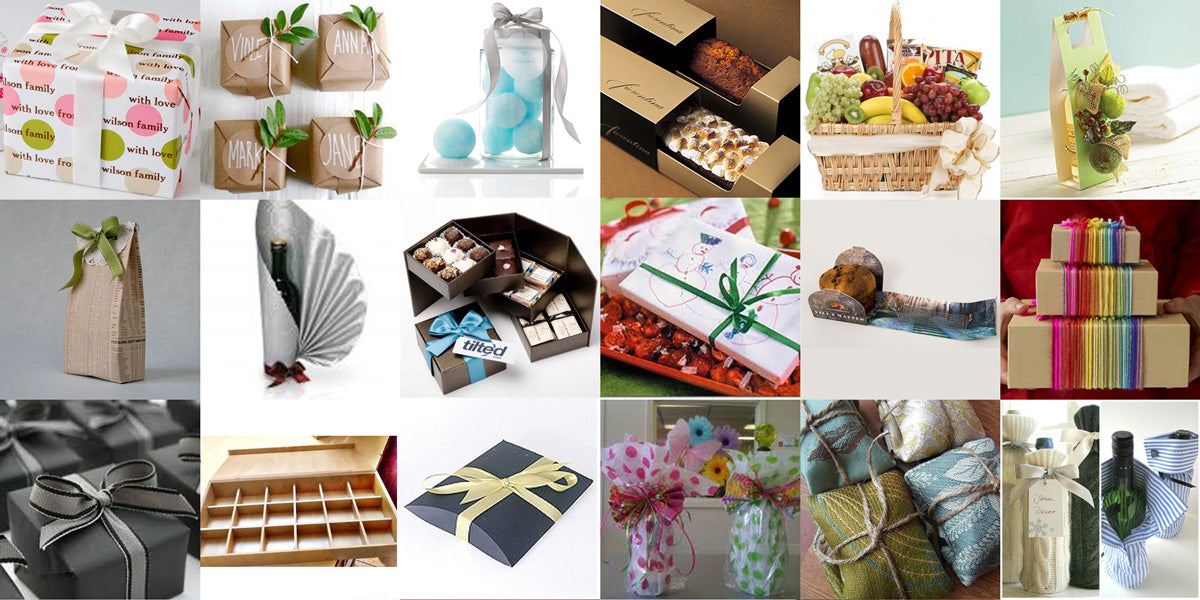 Gift Wrapping Ideas Cover