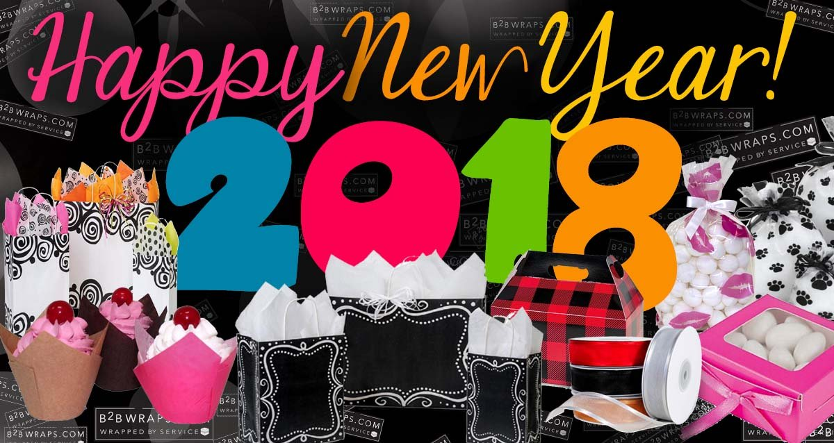 Happy New Year From B2Bwraps.com