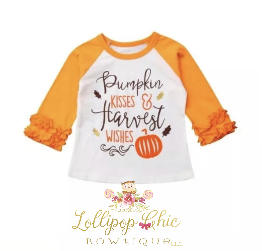 Lollipop Chic Bowtique LLC - Pumpkin Wishes