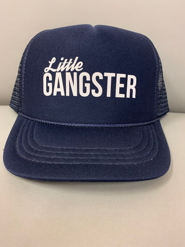 Little Gangster Youth Trucker Hat