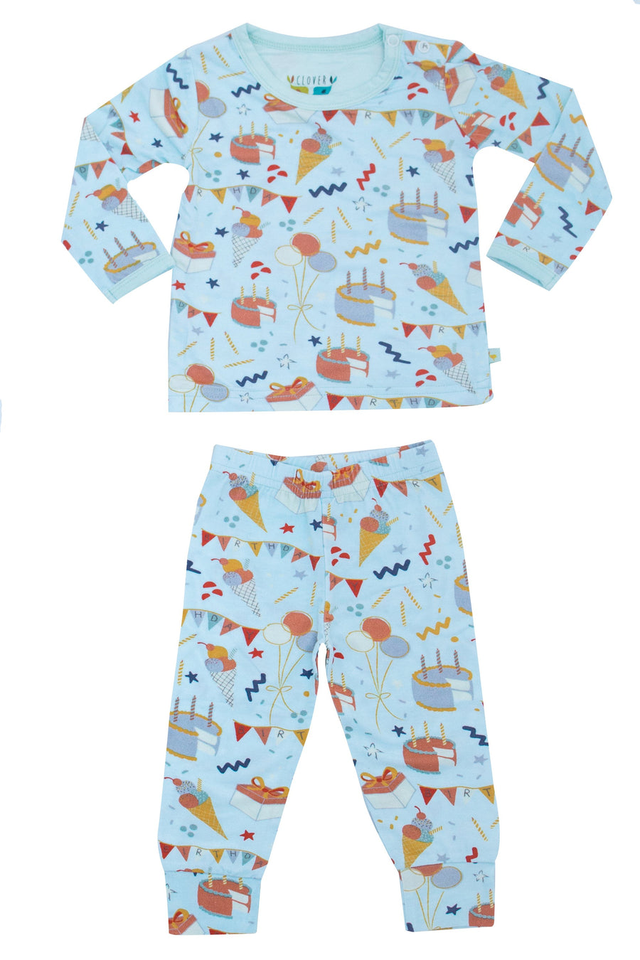 Clover Birthday Set/Onesie