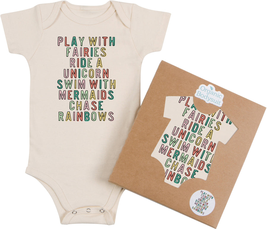 Morado Designs - Play With Fairies Bodysuit and Tee