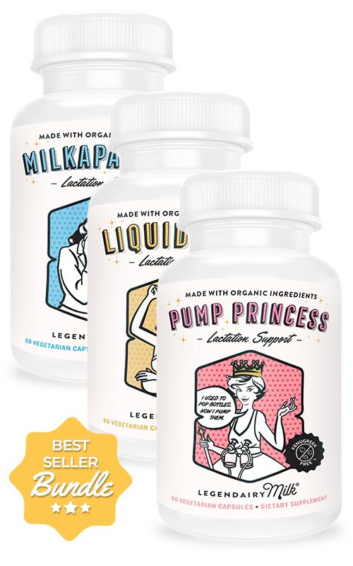 Legendairy Milk Lactation Support Bundle