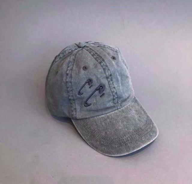 Pin Hat-Grey