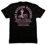 "Black and Pink ""Born To Party"" Shirt"