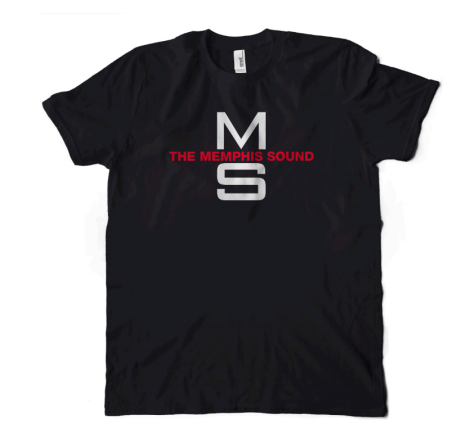 The Memphis Sound Black T-Shirt