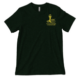 "Green and Yellow ""Born To Party"" Shirt"