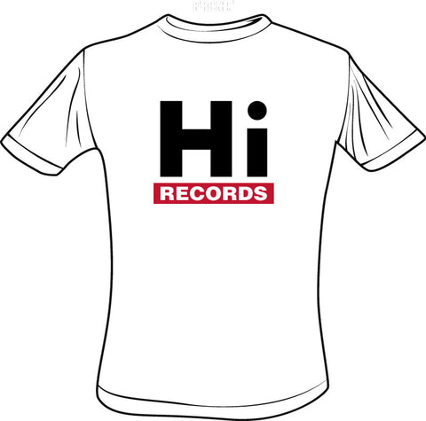 Hi Records White T-Shirt