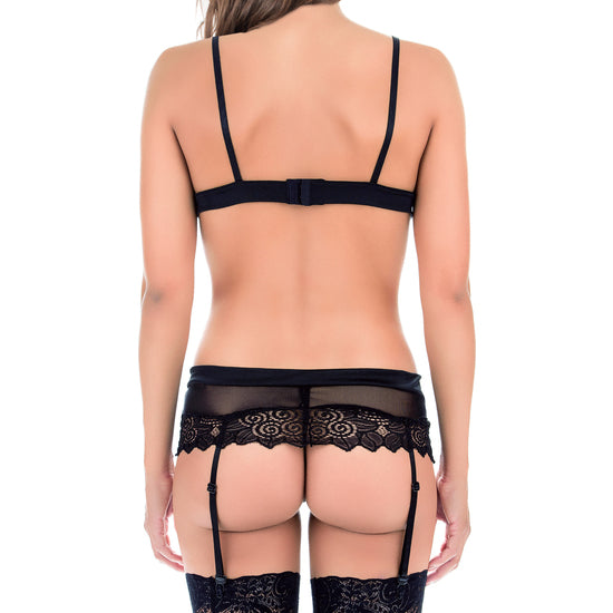 Conjunto Woman Seductive Negro