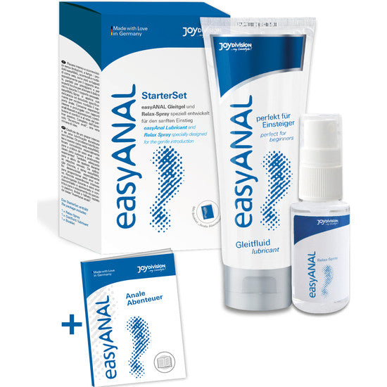 Kit Anal Spray y Lubricante