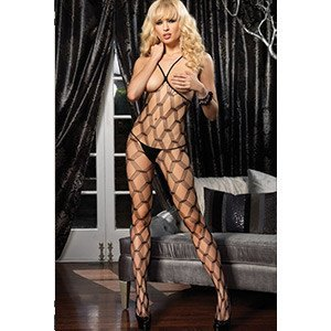 Bodystocking Sexy Red Ancha