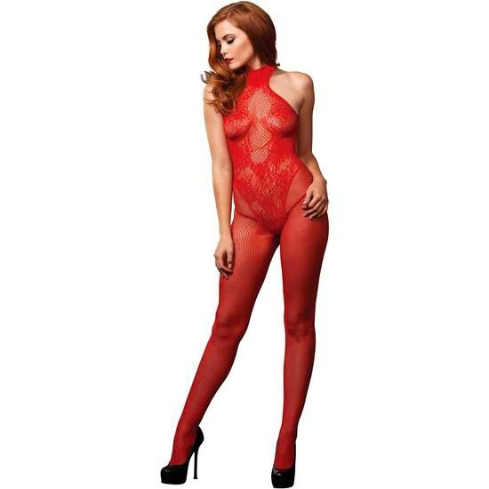 Bodystocking Sexy Rojo