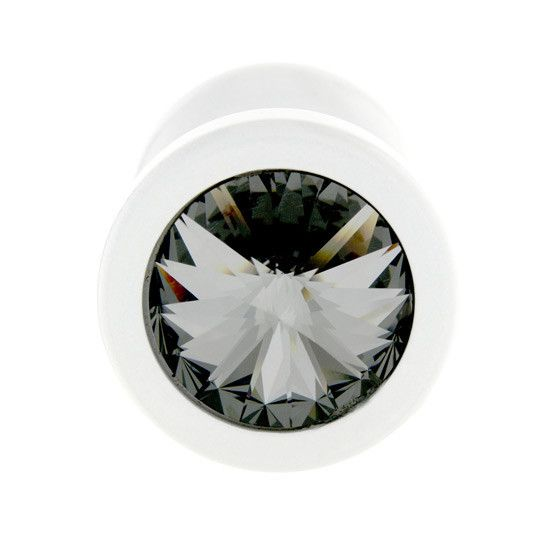 Plug Metal con Brillante 25 mm - Sensualove - 2
