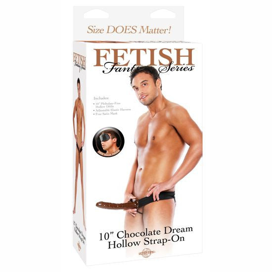 Fetish Fantasy Arnes Hueco Ajustable Chocolate 22 Cm. - Sensualove - 6