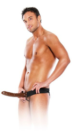 Fetish Fantasy Arnes Hueco Ajustable Chocolate 22 Cm. - Sensualove - 5