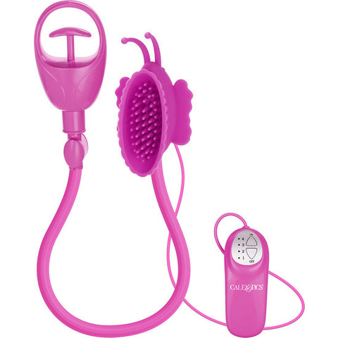 Butterfly Clitoral Pump Pink - Sensualove
