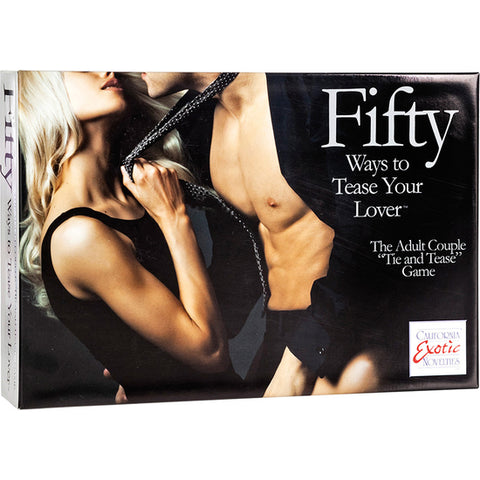 Fifty Ways to Tease Your Love. Kit para Parejas