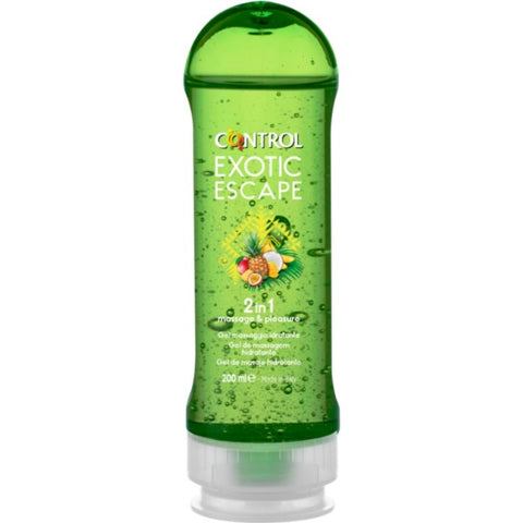Gel de Masaje 2 en 1 Exotic 200ml
