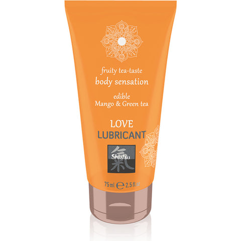Love Lubricante Comestible Mango & Té Verde 75 ml