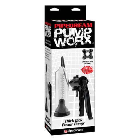 PUMP WORX BOMBA DE ERECCION THICK DICK - Sensualove