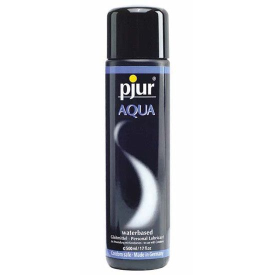 Pjur Aqua Lubricante Base Agua 500 Ml