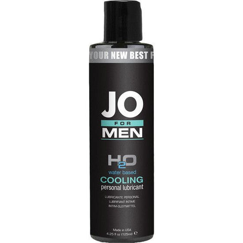 Jo For Men Lubricante H2o Efecto Frio 125 Ml - Sensualove