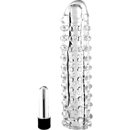 VIBROPENIS SLEEVE CLEAR