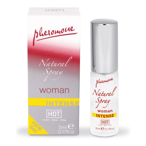 Hot Spray De Feromonas Natural  Intenso Para Mujeres 5 Ml - Sensualove