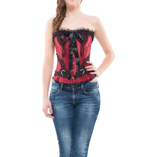 Intimax - Corset Barbara Granate