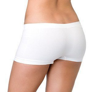 LEG AVENUE BRAGUITA SHORT DE COLOR BLANCO - Sensualove - 2